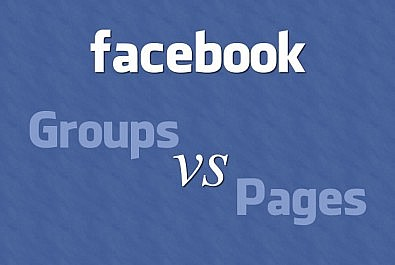 Facebook groups vs pages