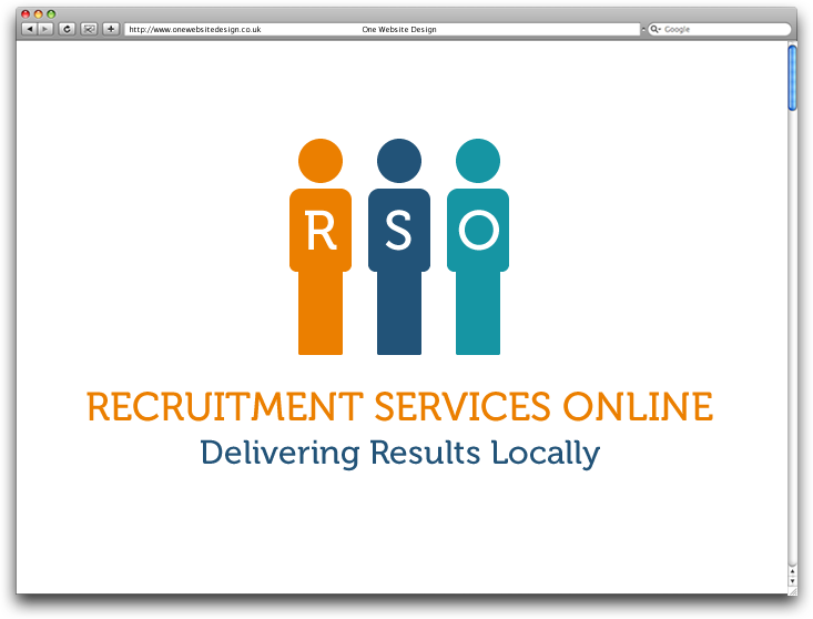 Recruitment services online one website design for Online architect services